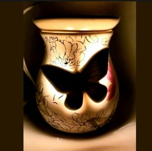 Scentsy Butterfly Ceramic Wax Warmer